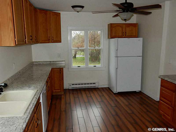 Wood and Granite Kitchen